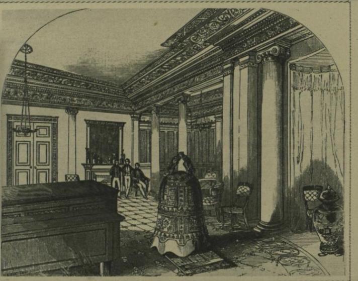 """图9 1844年陈列于白金汉宫图书馆里的""""宁波钟"""".jpg"""